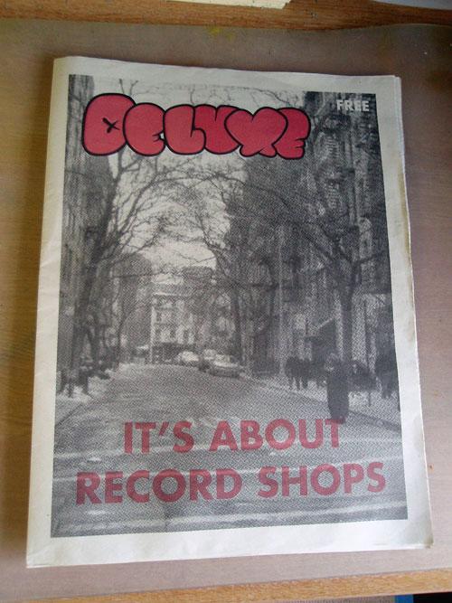 Deluxe Magazine cover
