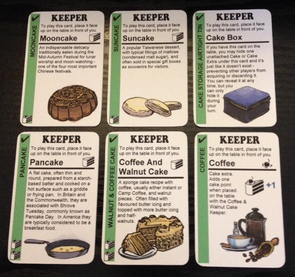 cake flux cards