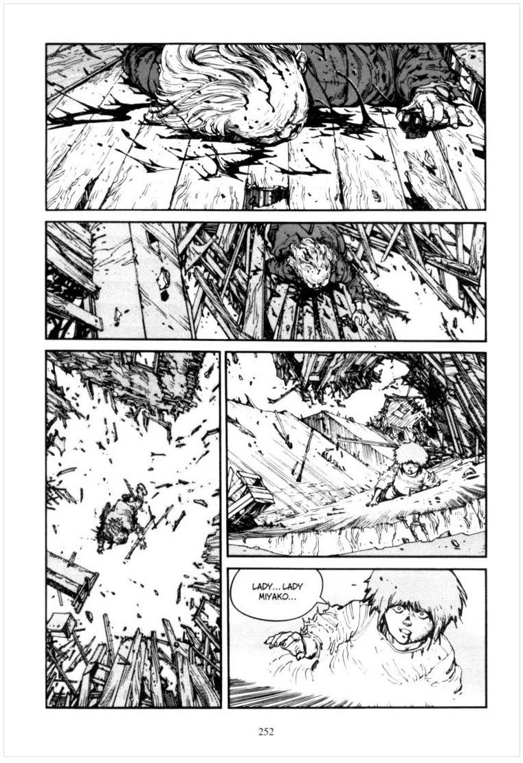 AKIRA page by Katsuhiro Otomo