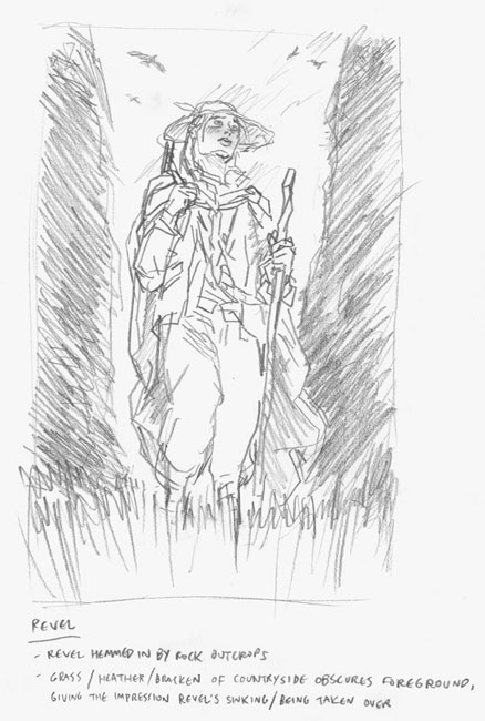 Chronicles of Deva character roughs: Revel