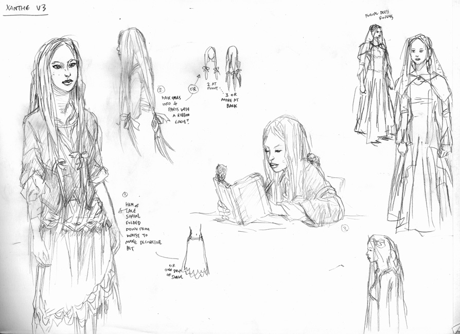Deva character: Xanthe Chance